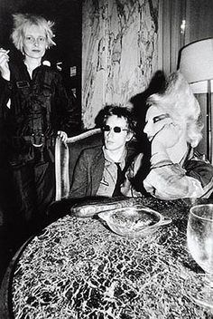 Vivienne Westwood, Johnny Rotten, Sue Catwoman.