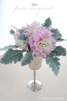 Easy tips for diy flower arrangements - create your own from grocery store blooms