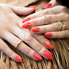 The Nail Sticker Trend is Back - Here's why you should give nail design decals another chance // Click to shop the Nails Inc.'s Fash Tattoos