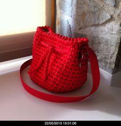 Bolso trapillo rojo