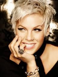 I love pink, and her style transformation! Her hair is awesome! If I went short this is what I'd attempt!