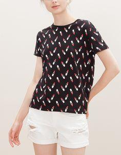 Camiseta allover print
