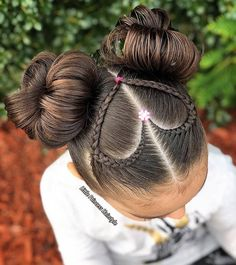 Cute Hairstyles - - Hairstyles - Hairstyles 2019 We have examined best cute hairstyles for you. You can apply one of this most preferred hair styes to your hair easily. Kids Braided Hairstyles, Princess Hairstyles, Pretty Hairstyles, Cool Hairstyles For School, Young Girls Hairstyles, Cute Little Girl Hairstyles, Little Girl Braids, Fast Hairstyles, Modern Hairstyles