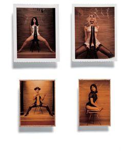 Polaroids by Carlo Mollino