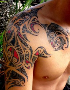 Among some of the most popular types of tattoos among men and women is one Shoulder tattoo designs.We also have many options for tattoos on shoulder in which one popular men shoulder tattoo design is Tribal Shoulder Tattoos. Cool Tribal Tattoos, Tribal Tattoos For Women, Tribal Shoulder Tattoos, Mens Shoulder Tattoo, Tribal Sleeve Tattoos, Cool Tattoos For Guys, Tribal Tattoo Designs, Best Tattoo Designs, Trendy Tattoos