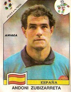 ZUBIZARRETA  (Selección Española - 1990)