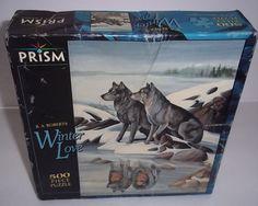 Prism Winter Love B A Roberts 500 piece Puzzle NIB #Prism