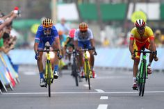DAY 1:  Cycling - Men's Road - Julian Alaphillippe of France and Joaquim Rodriguez Oliver of Spain