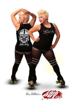 Laid Out Sugar Skull Tank by LaidOutClothing on Etsy, $20.00