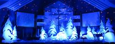 Throwback: Whoville Trees | Church Stage Design Ideas
