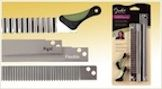 clayalley.com - Blades for slicing polymer clay canes, rigid, ripple or flexible, we have your blade.  $9.75 + shipping