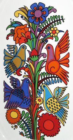 Villeroy & Boch Acapulco print