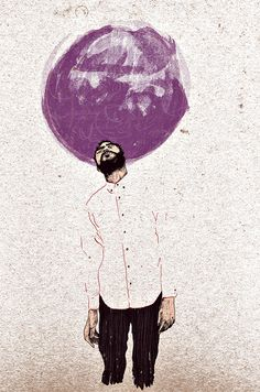 Fever dreams. by Augustus John, via Behance