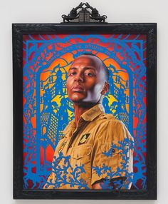 """Juxtapoz Magazine - Coming Soon: Kehinde Wiley """"The World Stage: Israel"""" @ Contemporary Jewish Museum, SF African American Artist, American Artists, African Art, Rodney King, Black Arts Movement, Dj Spooky, Kehinde Wiley, Mediums Of Art, Jewish Museum"""