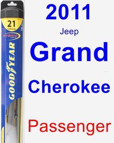 Passenger Wiper Blade for 2011 Jeep Grand Cherokee - Hybrid