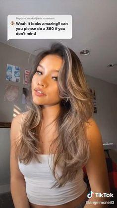Long Hair With Bangs, Haircuts For Long Hair, Long Hair Cuts, 90s Haircuts, Women Haircuts Long, Layered Hair With Bangs, Hair Layers, Long Layered Haircuts, Hair Bangs
