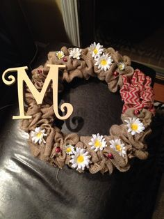 A wreath for Megan