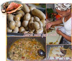 Temps de préparation : 2 heures Temps de cuisson : 30 mn Difficulté : Difficile/Technique Ingrédients pour 2kg de boudin: 1kg de lambis Environ 6 mètres de Boyaux 300gr de pain sec mixé 250ml de lait 3 oignons 5 pousses de cive 3 oeufs 2 gousses ail 2... Le Boudin, Meat, Chicken, Pain, Food, Creole Cuisine, Essen, Meals, Yemek