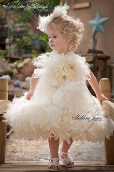 Little Miss Princess Flower Girl Dress. $110.00, via Etsy.