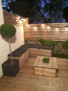 large DIY wooden terrace guinguette large DIY wooden terrace guinguette The post large DIY wooden terrace guinguette appeared first on Terrasse ideen. You are in the right place about garden decoration natural Here we offer … Backyard Seating, Backyard Patio Designs, Backyard Landscaping, Backyard Ideas, Garden Ideas, Landscaping Ideas, Deck Patio, Outdoor Seating, Diy Garden Seating