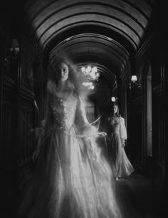 mesmerizing apparition and what's that other girl doing?