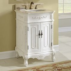 The elegance and beauty of the Milan vanity are ideal for your bath or powder room. Handmade by experts with birch, manufactured wood and veneer. Natural marble counter top with an ogee edge finish adds more character to the vanity. The vanity is handmade by craftsmen so no two pieces are exactly the same. Actual color may vary due to individual computer monitor display. This vamity is comprise of natural stones so every piece is different. There may be variations in color, veining…