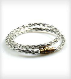 Silver Wrap Bracelet | Women's Jewelry | Nicolux | Scoutmob Shoppe