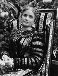 25th First Lady of the White House Ida McKinley wife of President William McKinley.