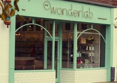 The Wonderlab Shopfront