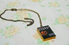 The Hunger Games book locket