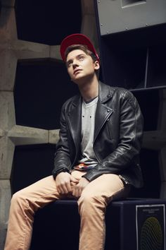 Conor Maynard - Conor is Grimmys nephew or friends son, something like that his song is the free song of the week on iTunes.. I'm not big on loud really songs but this is a really good workout song!!! It's called animal