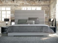 High Queen Size Bed
