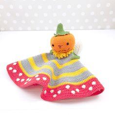 Pumpkin Lovey Crochet Pattern