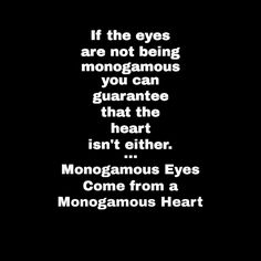 #Monogamous