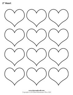 Geometric Shape Templates Archives - Page 3 of 4 - Tim's Printables Printable Heart Template, Heart Shapes Template, Shape Templates, Applique Templates, Owl Templates, Applique Patterns, Printable Hearts, Free Printable, Royal Icing Templates