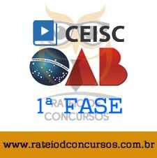 RATEIO - CURSO OAB XXIV (24) 1ª FASE – REGULAR – CEISC