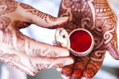Sindhur and Mehendi