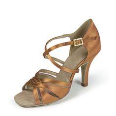 Salsa Danse, Satine, Sandals, Shoes, Fashion, Types Of Heels, Women, Dance, Moda