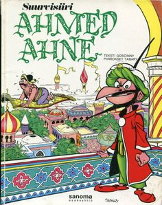 Cover for Iznogoud (Dargaud, 1966 series) - Le Grand Vizir Iznogoud Comics Und Cartoons, Children's Comics, Riad Sattouf, Comics Vintage, Lucky Luke, Film D'animation, Classic Comics, Humor Grafico, Lectures