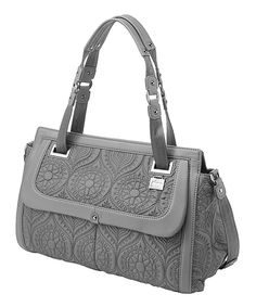 Look what I found on #zulily! Graphite Soho Satchel by Petunia by Petunia Pickle Bottom #zulilyfinds