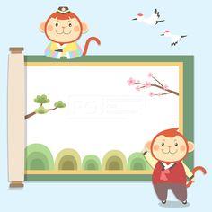 이벤트, ILL143, 에프지아이, 벡터, 배너, 팝업, 프레임, 캐릭터, 동양, 전통, 원숭이, 동물, 신년, 새해, 병신년, 근하신년, 2016, 설날, 명절, 추석, 겨울, 즐거운, 행복, 웃음,  일러스트, illust, illustration #유토이미지 #프리진 #utoimage #freegine 19517699