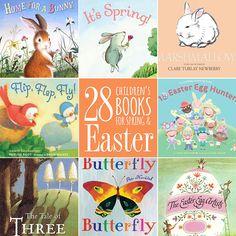 28 Children's Books for Spring & Easter. #easter #spring #kidsbooks