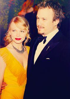 Favorite couple - Michelle WIlliams & Heath Ledger at the 2006 Oscars