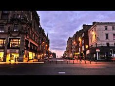 Ten time lapse videos of places (this one is Edinburgh.)