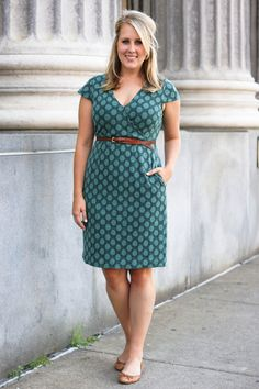 Peace and Client Dress in Dots
