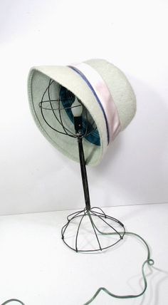 Vintage Wire Hat Stand LAMP   Millinery by UrbanRenewalDesigns, $50.00