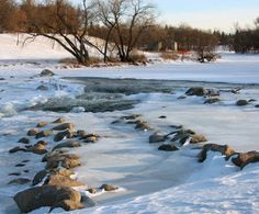 Red River in Fargo Copyright iStockPhoto.com/NascarNole #Fargo #North Dakota #Greatplaces