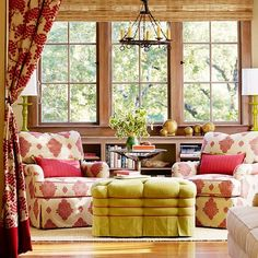Brighten Up Your Home With The Color Red - Little House on the Valley