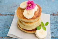 Skinny Cottage Cheese Pancakes