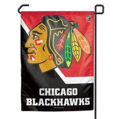 Chicago Blackhawks 11x15 Garden Flag